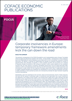 Coface Focus - Europe Insolvencies