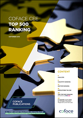 Coface publishes CEE Top 500 companies